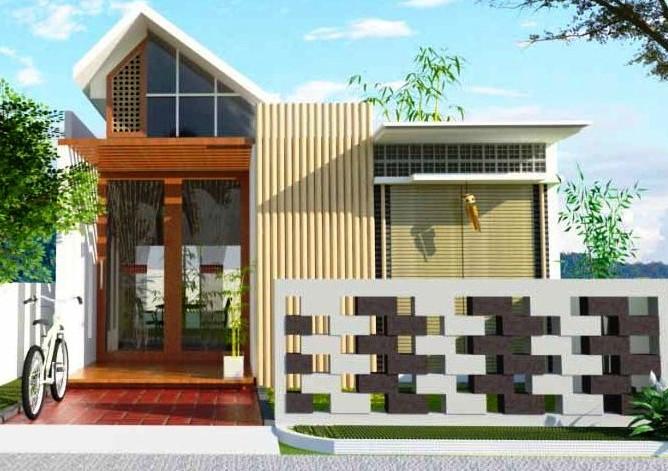 Gambar Desain Rumah Minimalis 2 Lantai Tampak Depan