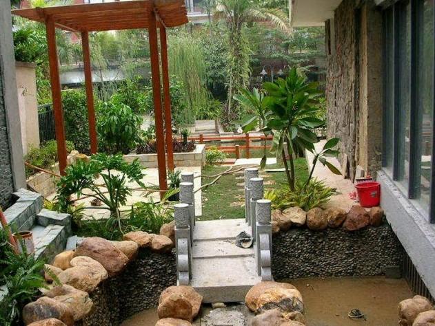 Gambar Desain Taman Rumah Sederhana