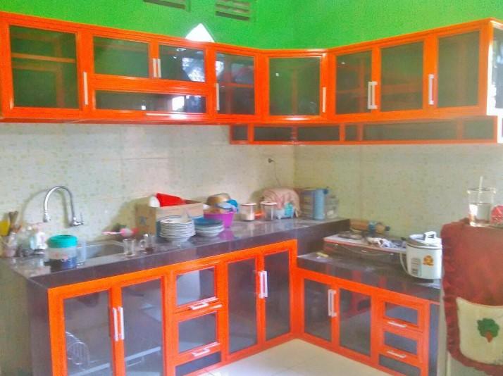 Gambar Kitchen Set Aluminium Kaca