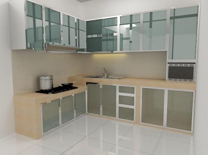 Gambar Kitchen Set Aluminium Terbaru
