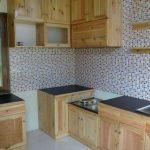Gambar Kitchen Set Dari Kayu