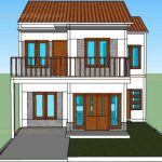 Gambar Model Rumah Minimalis 2 Lantai Tampak Depan
