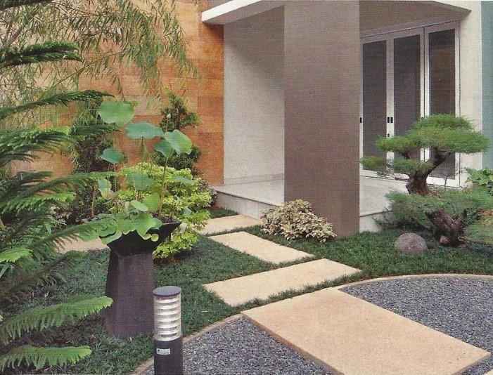 Gambar Taman Halaman Rumah Sederhana