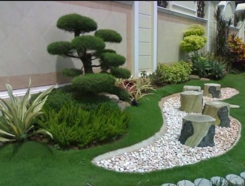 Gambar Taman Rumah Kecil Sederhana