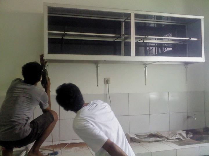 Harga Kitchen Set Aluminium Composite Panel