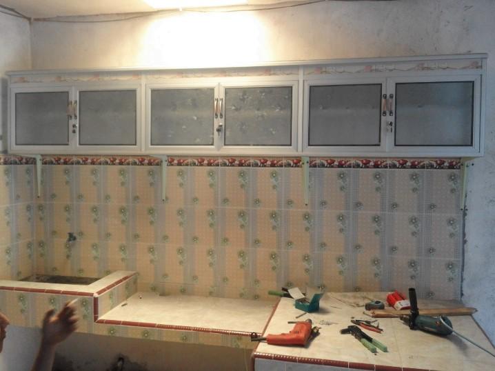Harga Lemari Kitchen Set Aluminium