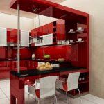 Ide Desain Kitchen Set Mini Bar Terbaru 2019