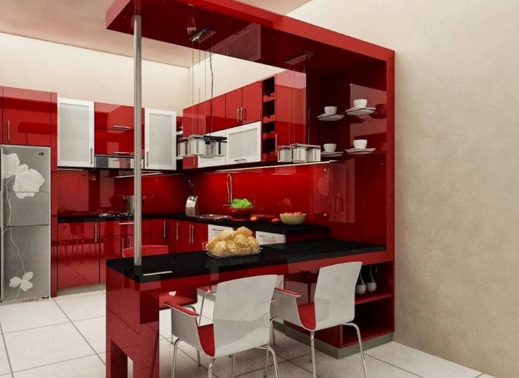 Ide Desain Kitchen Set Mini Bar Terbaru 2019