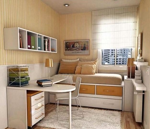 Interior Kamar Tidur Minimalis 2x3