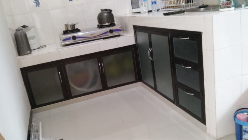 Kitchen Set Aluminium Minimalis Surabaya