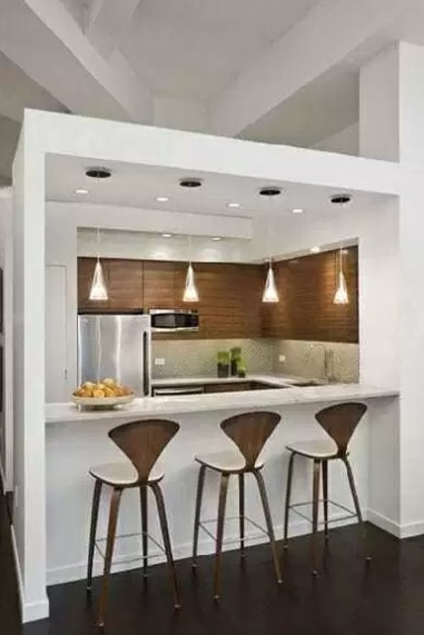 Kitchen Set Mini Bar Dapur Yang Hangat