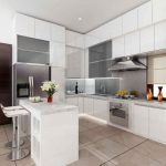 Kitchen Set Mini Bar Dengan Kitchen Island