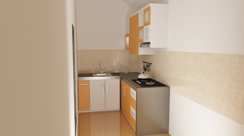 Kitchen Set Minimalis Dapur Kecil Sederhana