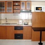 Kitchen Set Model Satu Garis