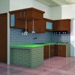 Lemari Kitchen Set Kayu