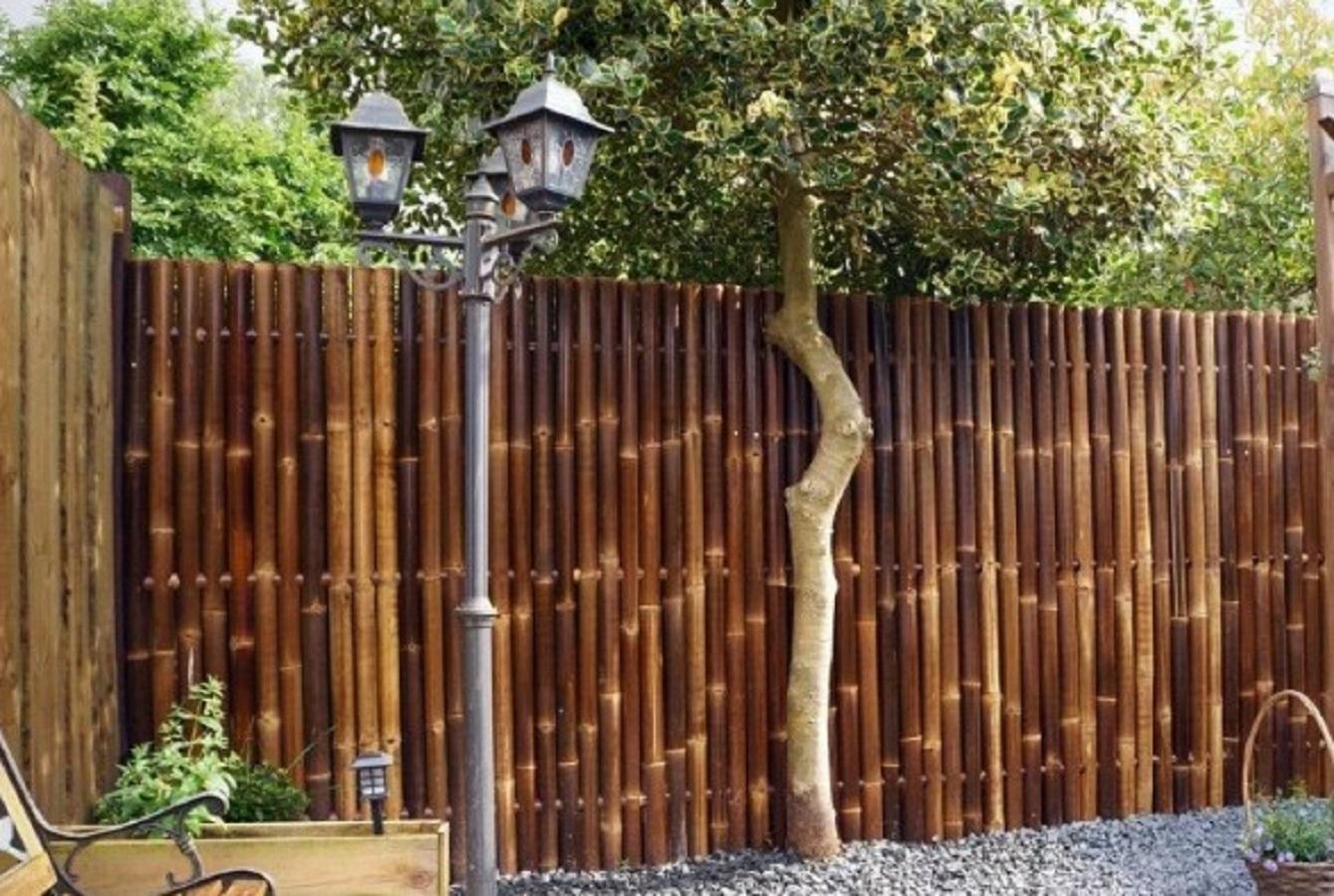 Model Pagar Minimalis Bambu