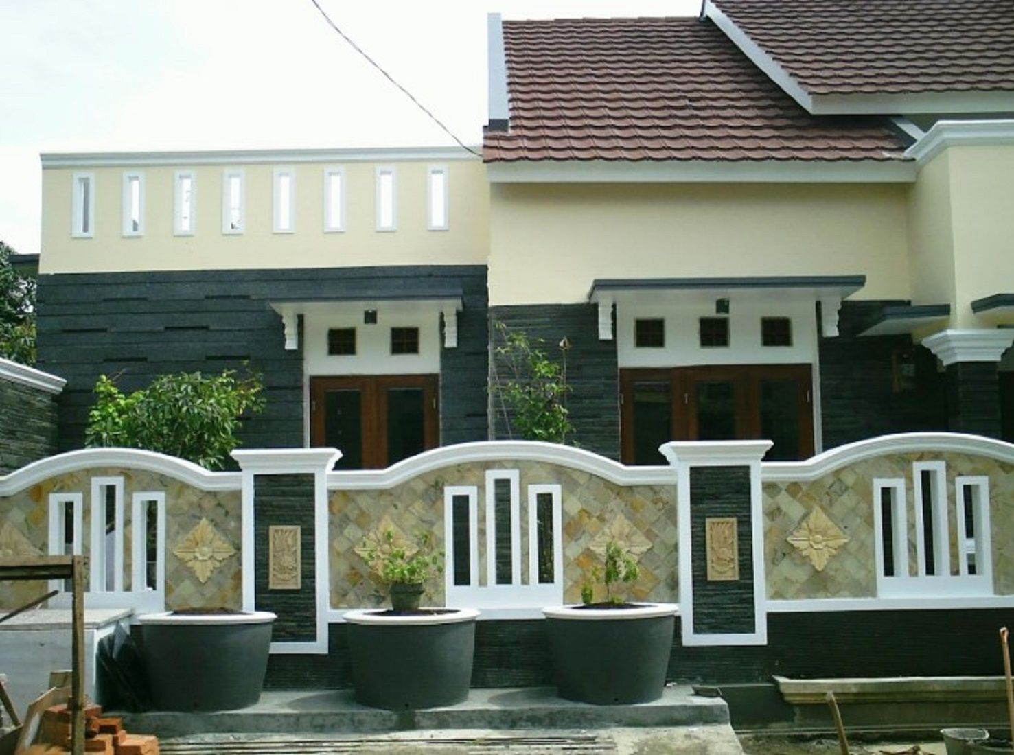 Model Pagar Minimalis Beton