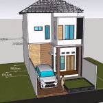 Model Rumah Minimalis 2 Lantai 6x12