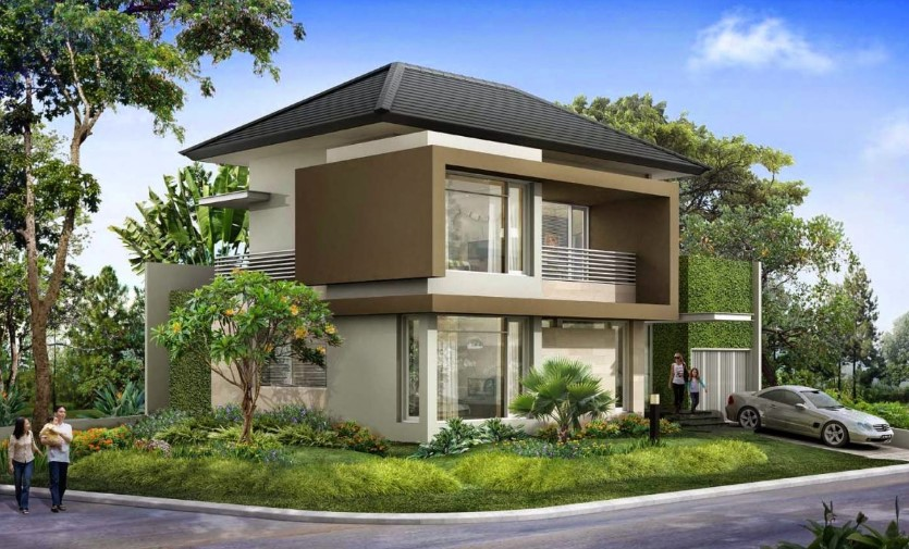 Model Rumah Minimalis 2 Lantai Ukuran 6x12