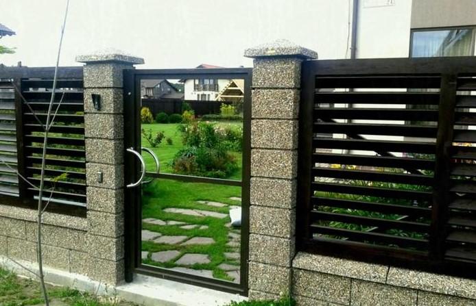 √ 60+ Model Pagar Rumah Minimalis Besi Dan Kayu Modern