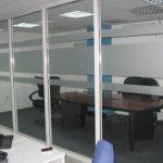 Pembatas Ruangan Minimalis Kaca