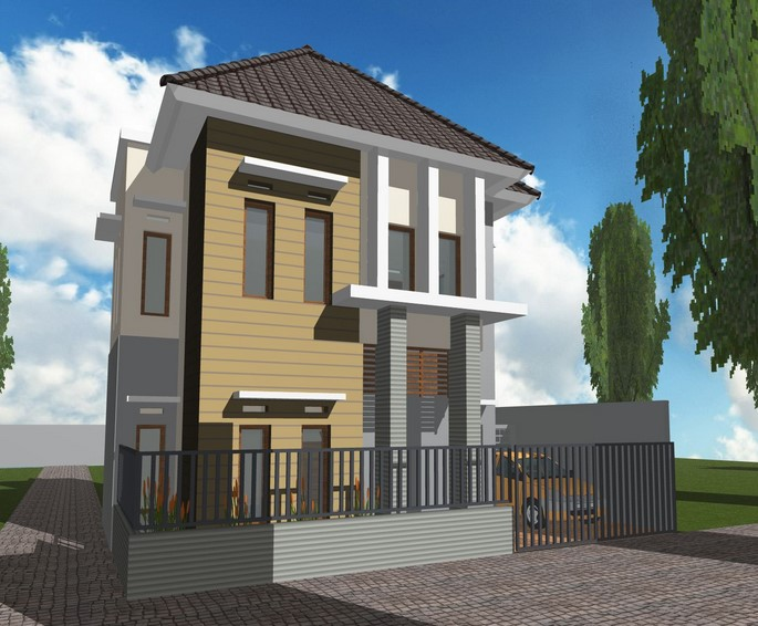 Rumah Impian Sederhana 2 Lantai Minimalis