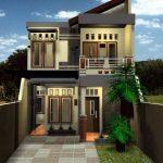 Rumah Minimalis 2 Lantai Sederhana Tampak Depan