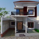 Rumah Minimalis 2 Lantai Sederhana Type 36