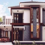 Rumah Minimalis 2 Lantai Tampak Depan Mewah