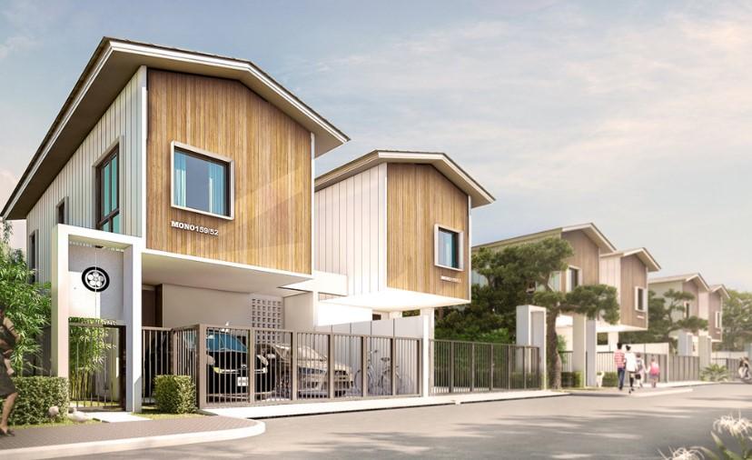 Rumah minimalis 2 lantai luas 52 meter persegi