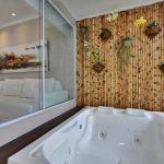 Sekat Ruangan Minimalis dari Bambu