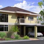 Sketsa Rumah Minimalis 2 Lantai Sederhana