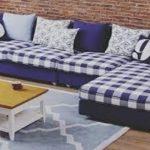 Sofa Tamu Minimalis Motif Kotak