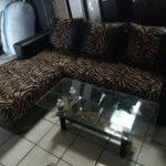 Sofa Tamu Minimalis Motif Macan