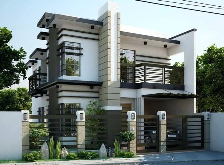 Tampak Depan Rumah Minimalis 2 Lantai Terbaru