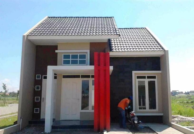 Tampak Depan Rumah Minimalis 2 Lantai Ukuran Kecil