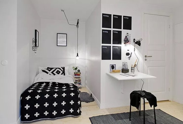 Tips Desain Kamar Tidur Ukuran 3×3