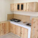 Ukuran Kitchen Set Kayu