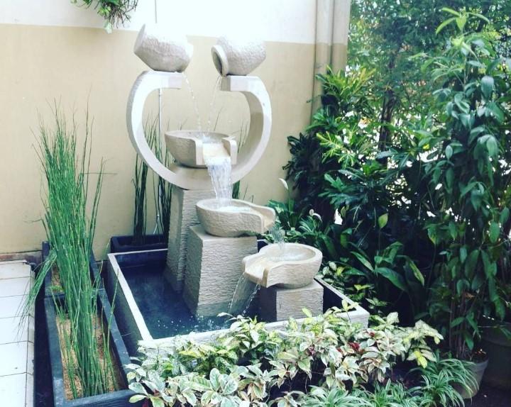 Air Mancur Sebagai Oase untuk Taman Minimalis