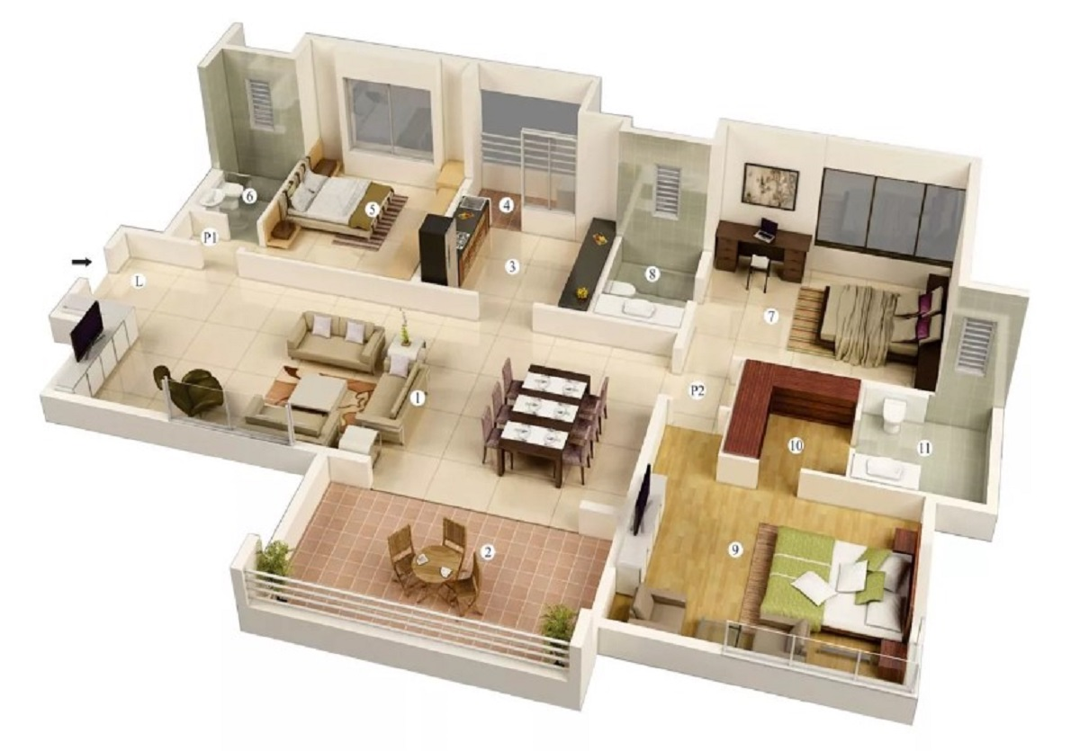 Contoh Rumah Minimalis 3 Kamar