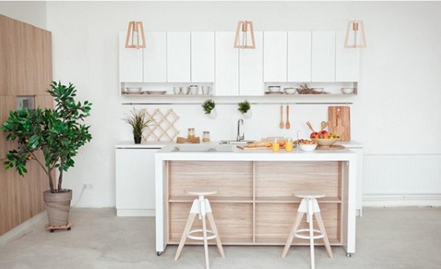 Dapur Minimalis Sederhana yang Selalu Rapi