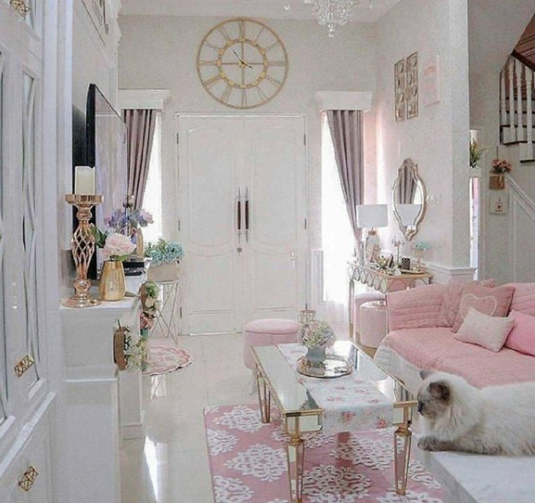 Dekorasi Rumah Gaya Shabby Chic