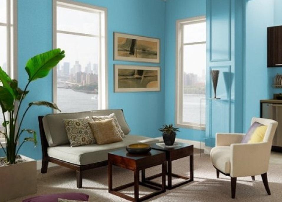 Dekorasi Rumah Minimalis Dinding Rumah Warna Cerah