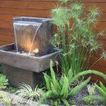 Dekorasi Taman Air Mancur Minimalis