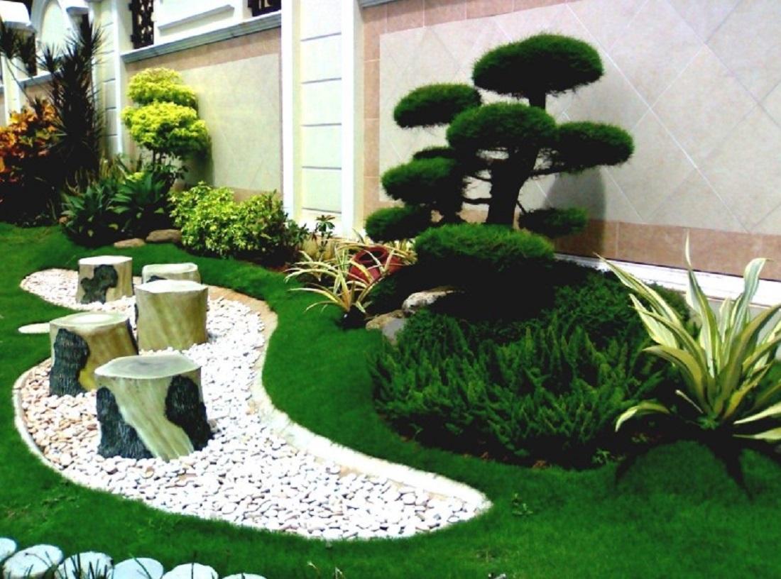 Dekorasi Taman Belakang Minimalis