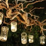 Dekorasi Taman Berupa Lilin lilin Cantik