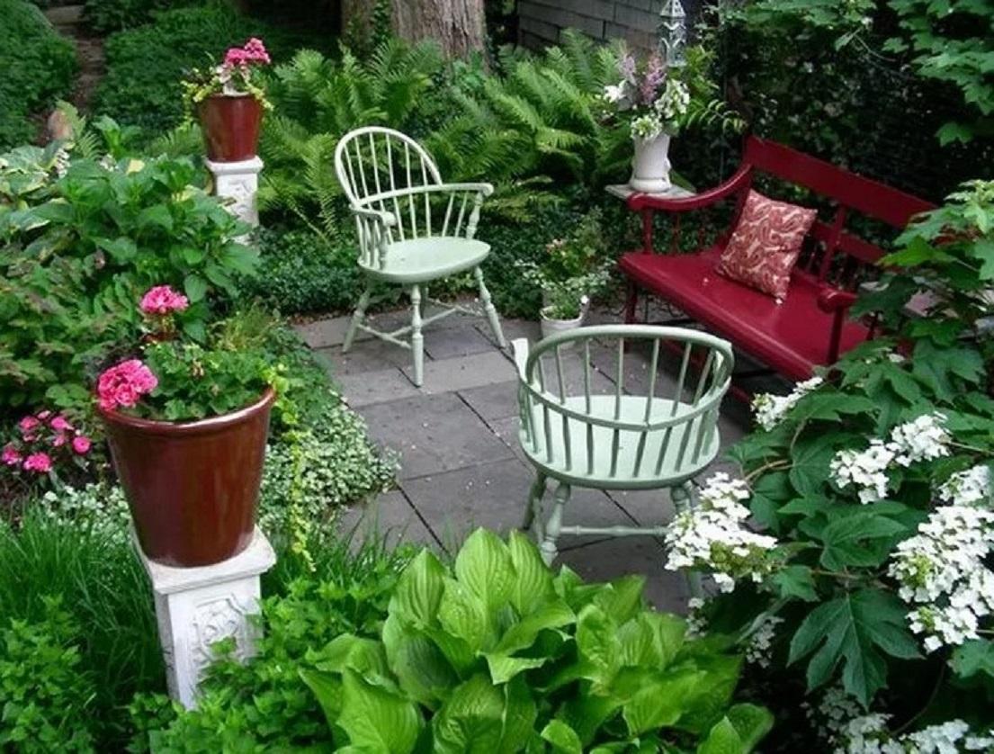 Dekorasi Taman Bunga Depan Rumah