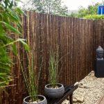 Dekorasi Taman Dari Bambu