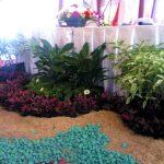 Dekorasi Taman Depan Panggung