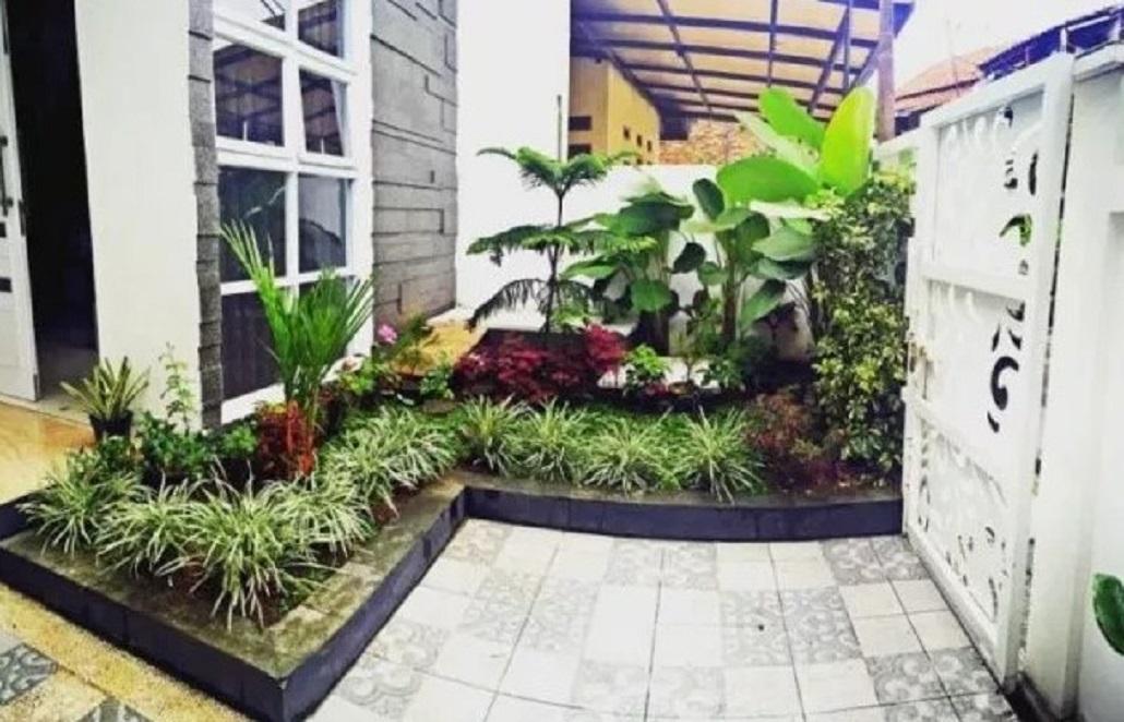 Dekorasi Taman Depan Rumah Terbaru 2019